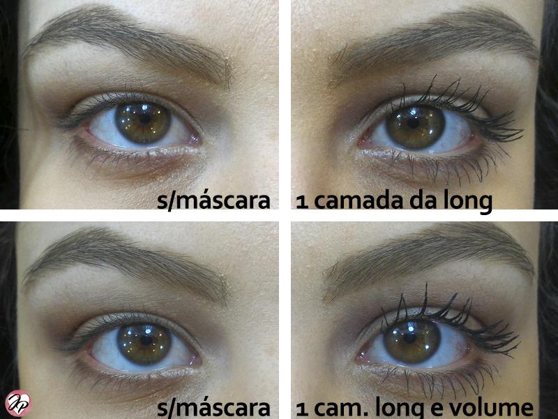 mascara de cilios volume e alongamento